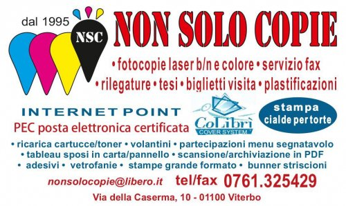 NONSOLOCOPIE VITERBO INTERNET POINT