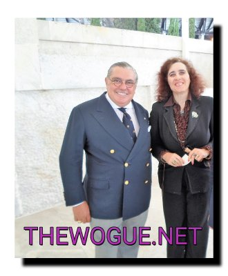 PATRIZIA PIERBATTISTA  E S.I. NUNZIO ALFREDO D'ANGIERI AMBASCIATORE DEL BELIZE