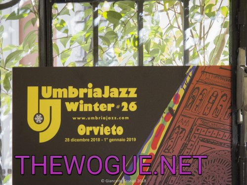 UMBRIA JAZZ WINTER  26 ORVIETO CONFERENZA STAMPA ROMA DICEMBRE 2018