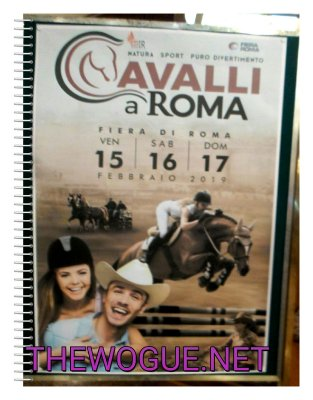 cavalli a roma 2019 fiera di roma