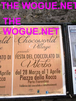 cioccoworld village viterbo 2013