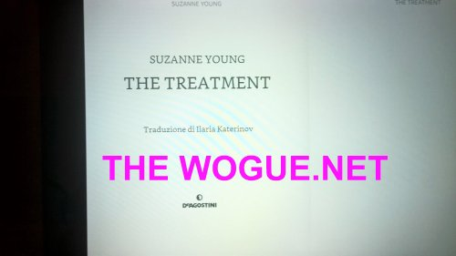 l'inizio del libro ebook the  treatment