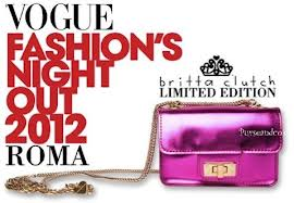 vogue fashion's night out 2012 roma