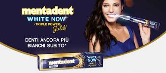 mentadent white now gold
