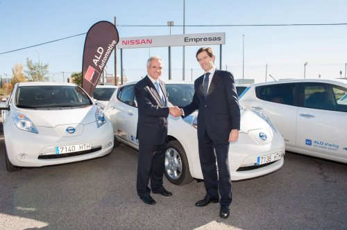 ald automotive incontra nissan